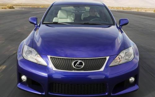 2008 Lexus IS F 4dr Sedan exterior #9