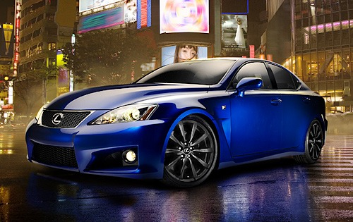 2008 Lexus IS F 4dr Sedan exterior #3