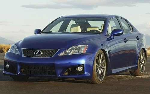2008 Lexus IS F 4dr Sedan exterior #1