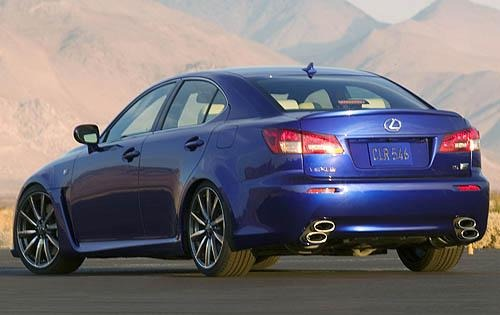 2008 Lexus IS F 4dr Sedan exterior #7