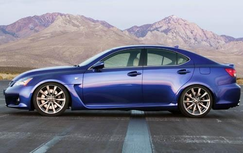 2008 Lexus IS F 4dr Sedan exterior #5