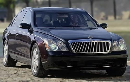 2008 Maybach 57 Wheel Det exterior #1