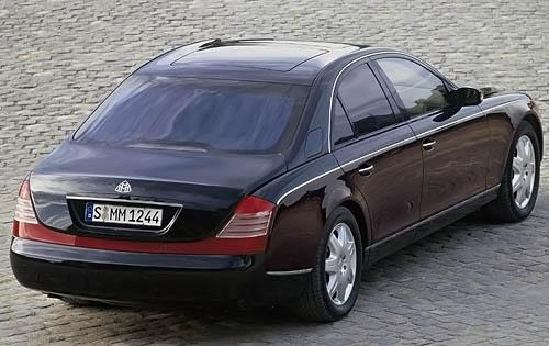 2008 Maybach 57 Wheel Det exterior #8