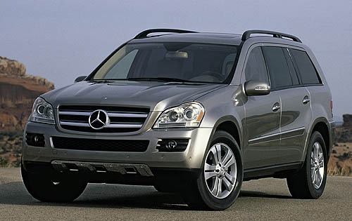 2008 mercedes benz gl class image 5 for Mercedes benz suv gl450
