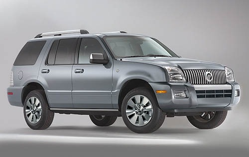 2008 Mercury Mountaineer  exterior #2