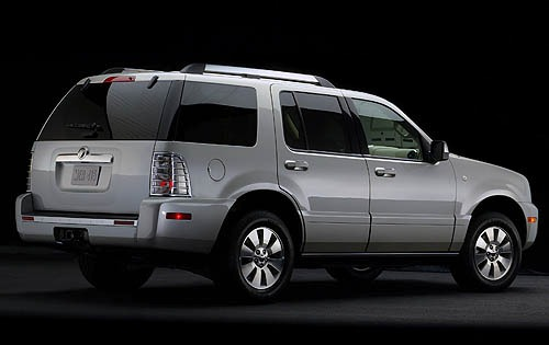 2008 Mercury Mountaineer  exterior #4