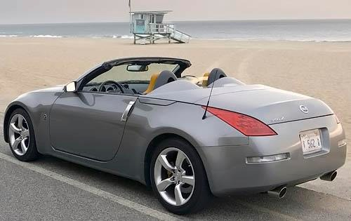 2008 Nissan 350Z Grand To interior #7