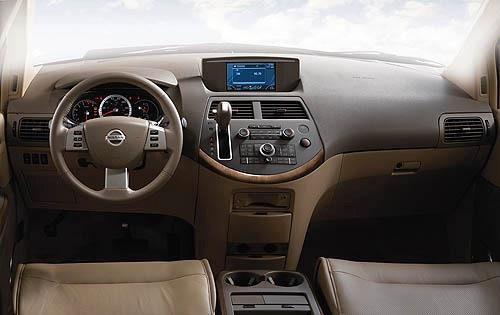 2008 Nissan Quest 3.5 SL  interior #9