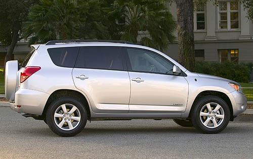 2008 Toyota RAV4 #6 2008 Toyota RAV4 Limited Exterior #6