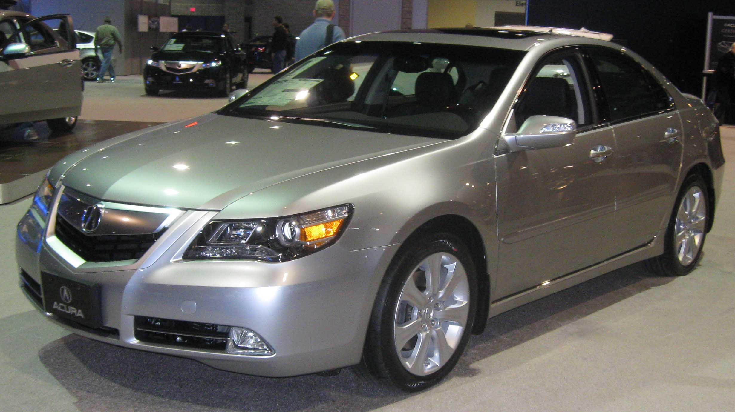 2009 acura rl information and photos zombiedrive