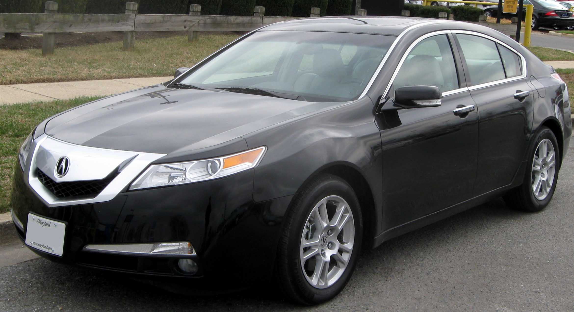 2009 acura tl information and photos zombiedrive