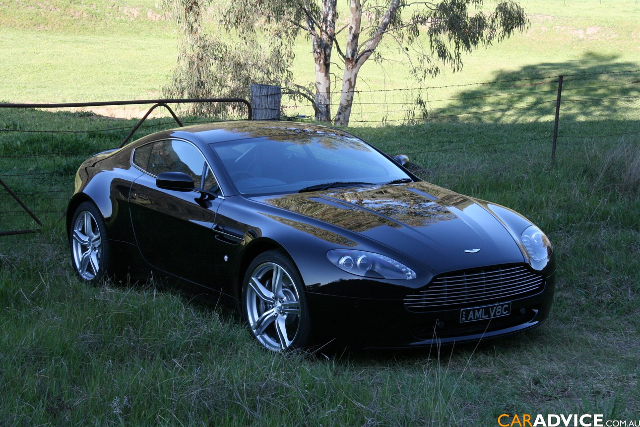2009 Aston Martin V8 Vantage Information And Photos Zombiedrive