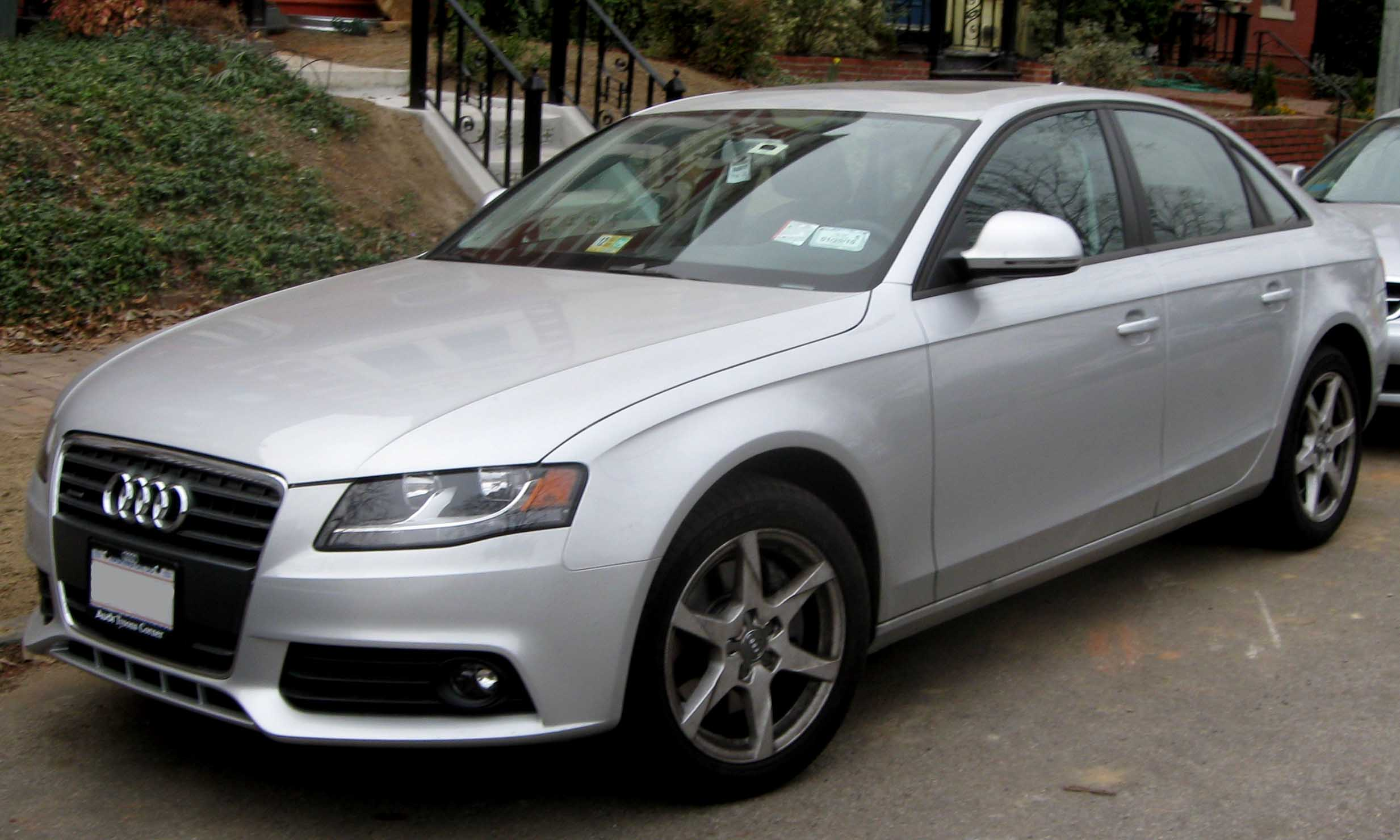2009 audi a4 information and photos zombiedrive. Black Bedroom Furniture Sets. Home Design Ideas