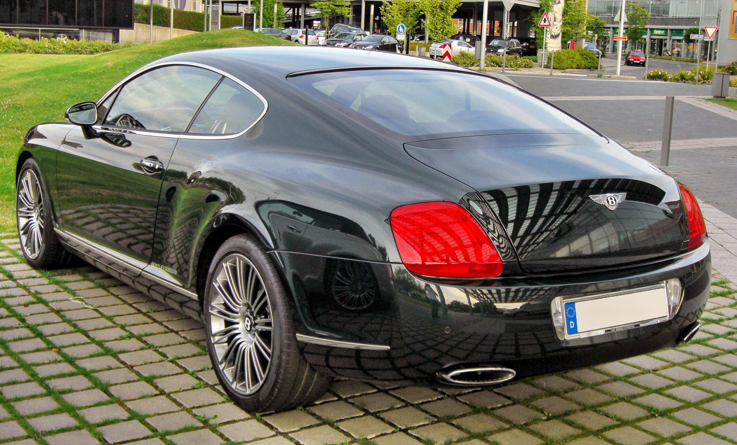 2009 Bentley Continental Gt Speed Information And Photos