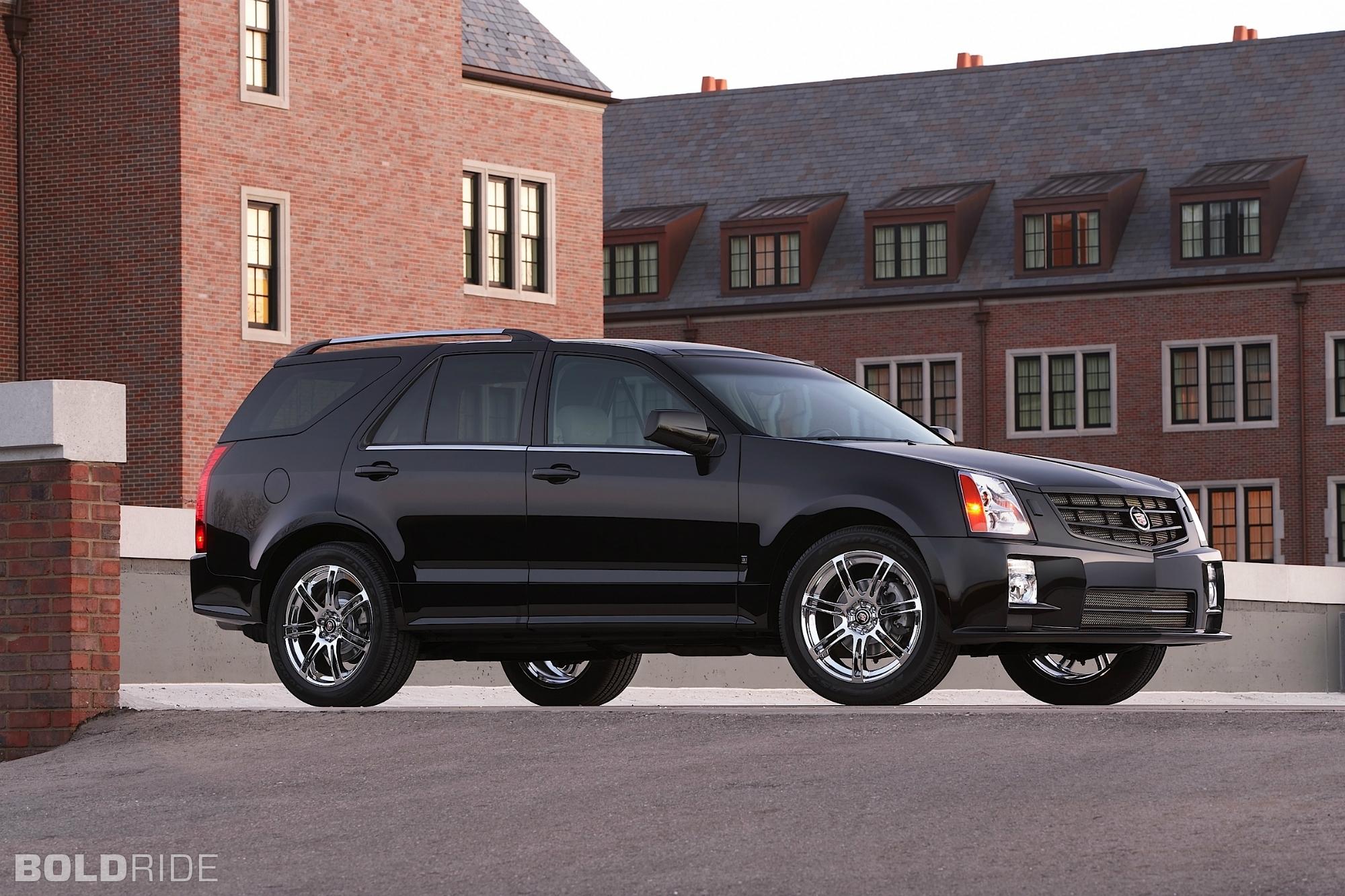 2009 Cadillac SRX - Information and photos - ZombieDrive
