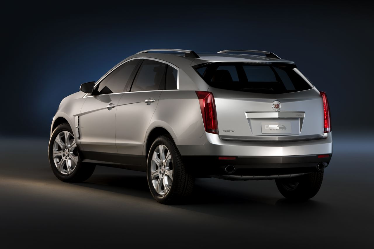 2009 Cadillac Srx 14