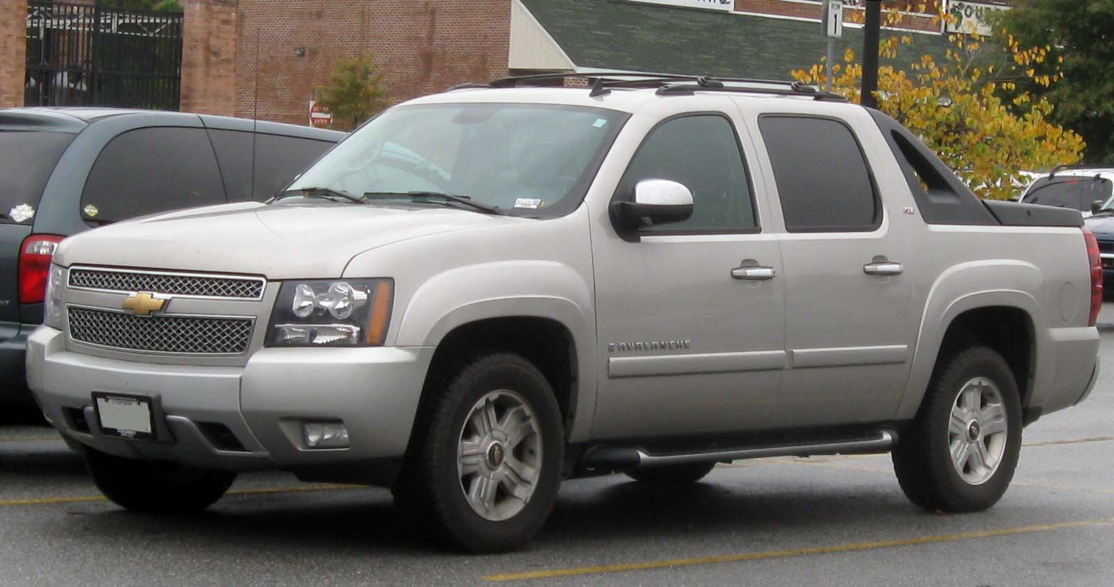 2009 chevrolet avalanche information and photos zombiedrive. Black Bedroom Furniture Sets. Home Design Ideas