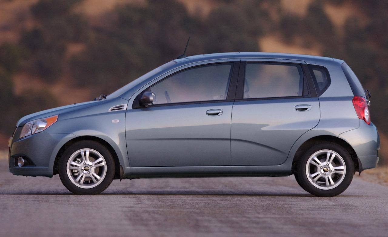 All Chevy 2009 Chevrolet Aveo Gas Mileage Information And Photos