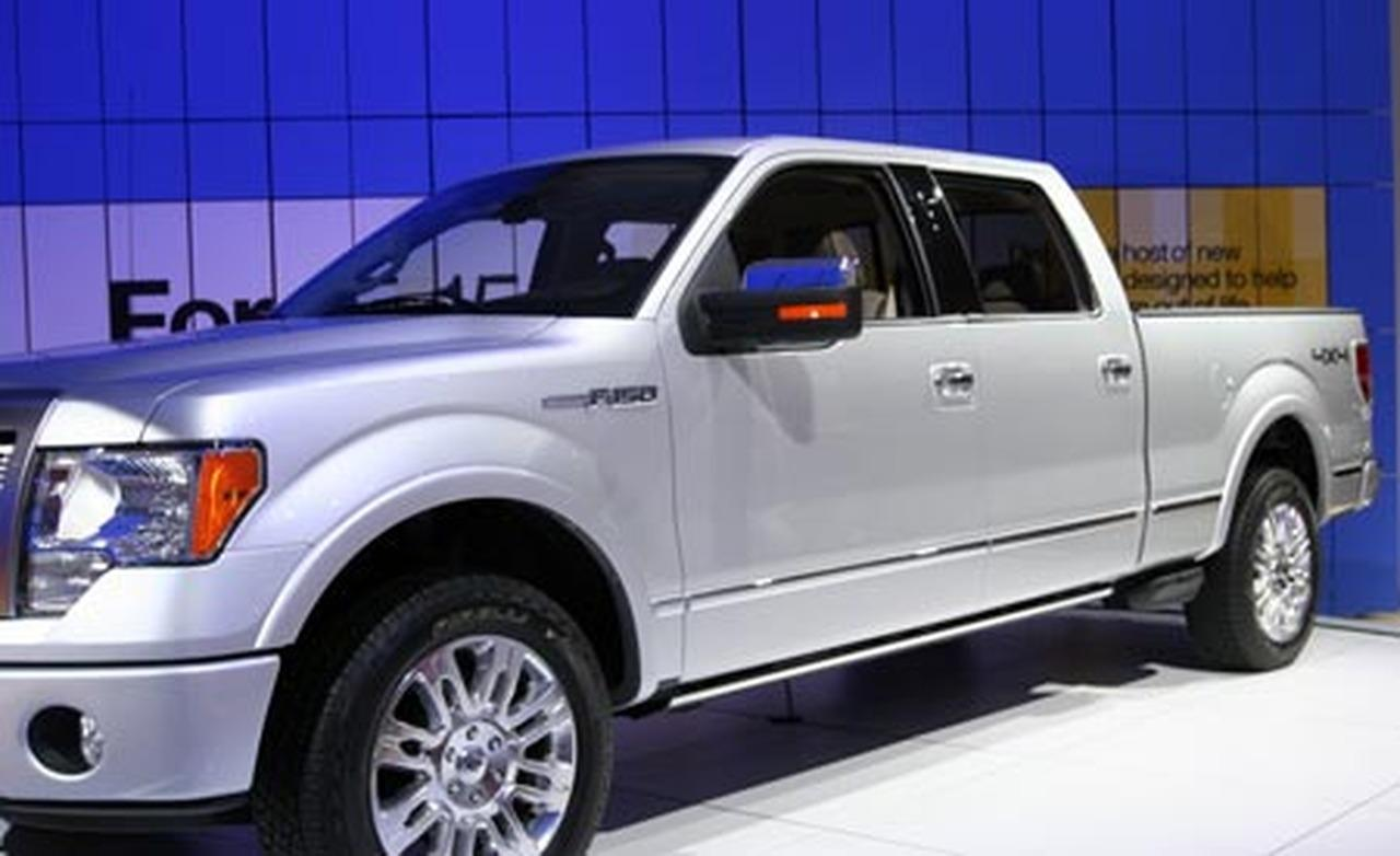 2009 ford f 150 information and photos zombiedrive. Black Bedroom Furniture Sets. Home Design Ideas