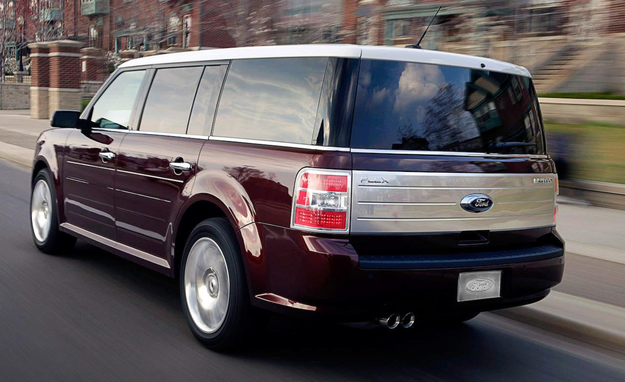 2009 ford flex image 14. Black Bedroom Furniture Sets. Home Design Ideas