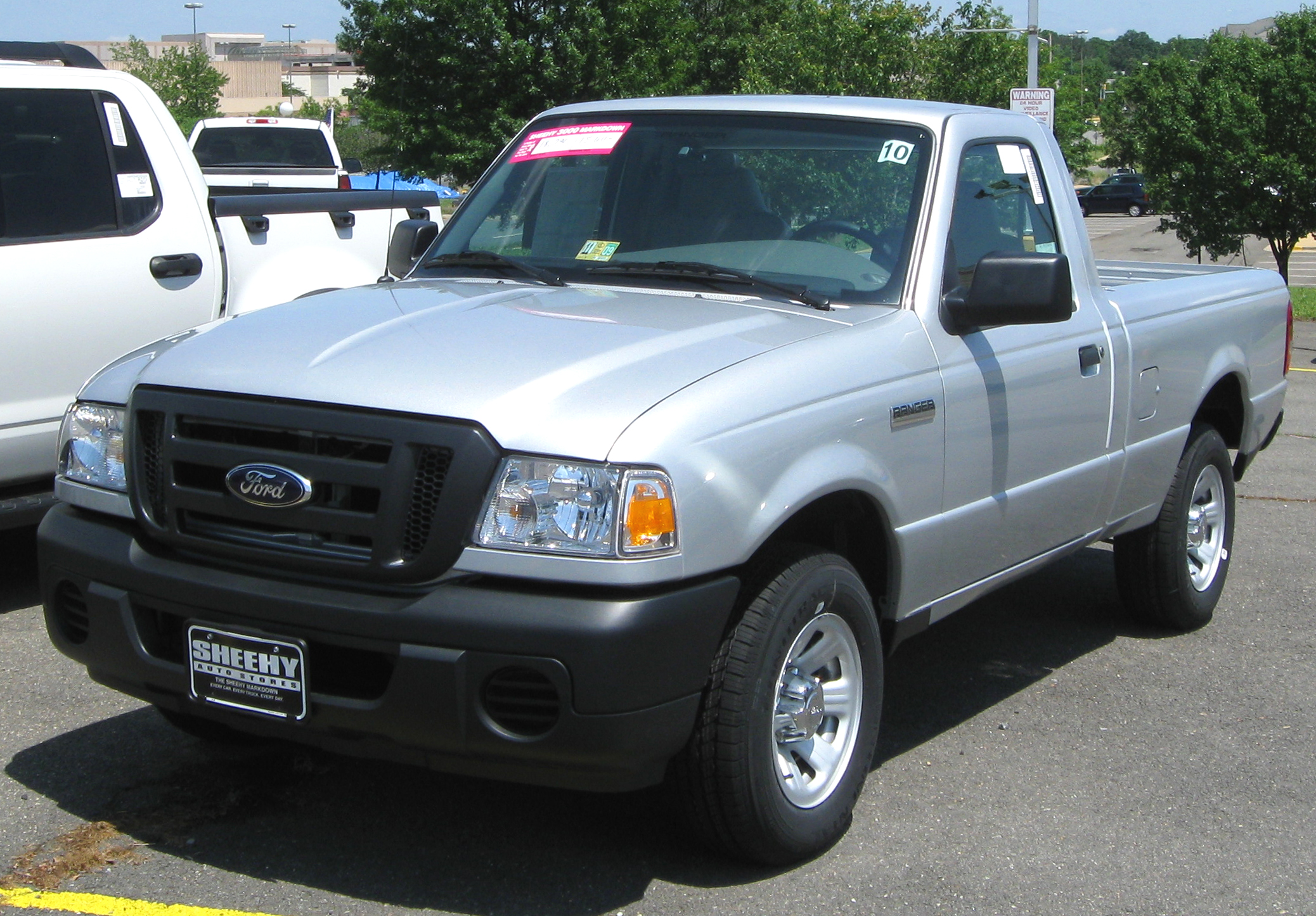 2009 ford ranger information and photos zombiedrive. Black Bedroom Furniture Sets. Home Design Ideas