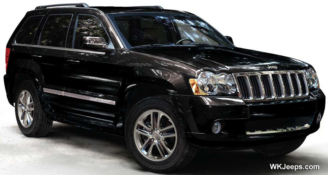 2009 jeep grand cherokee information and photos zombiedrive. Black Bedroom Furniture Sets. Home Design Ideas