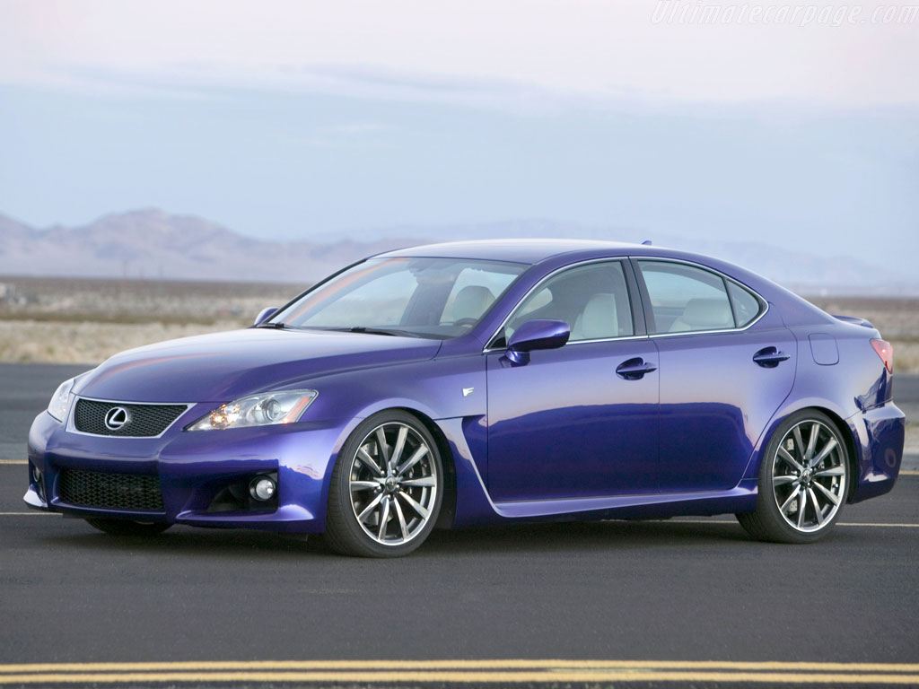 Lexus IS F #20