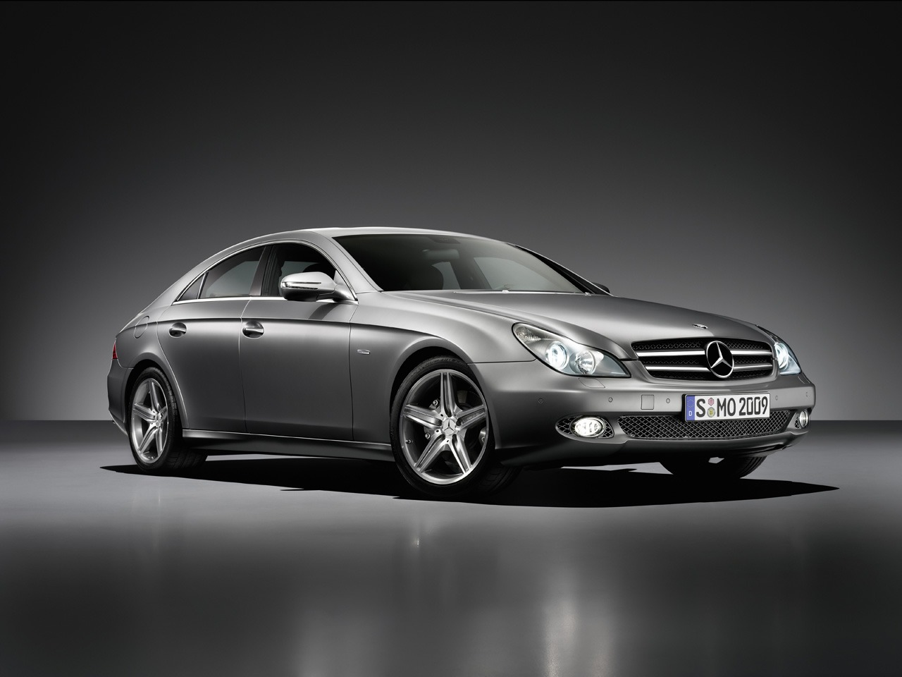 2009 mercedes benz cls class image 12 for Mercedes benz cls 2009