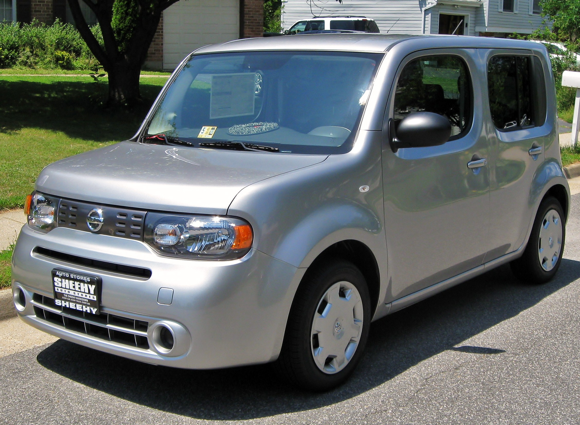 2009 nissan cube information and photos zombiedrive. Black Bedroom Furniture Sets. Home Design Ideas