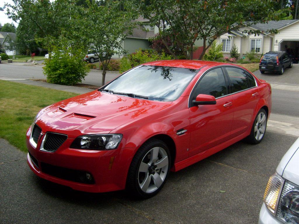2009 Pontiac G8 12