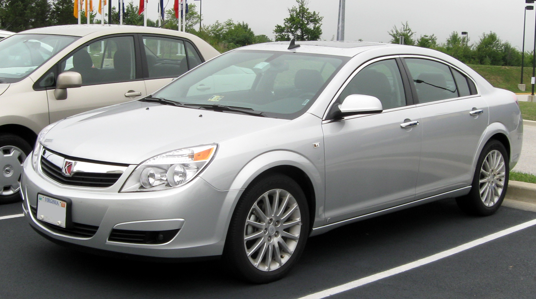 2008 saturn aura information and photos zombiedrive