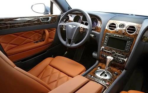 2009 Bentley Continental  interior #9