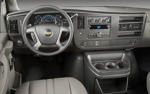 2009 Chevrolet Express LS interior #4