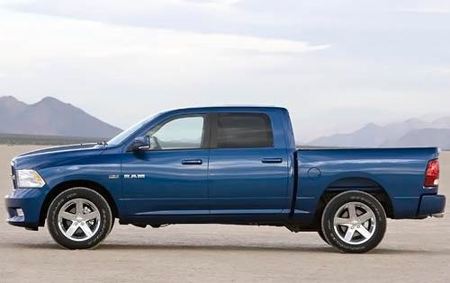 2009 Dodge Ram Pickup 150 interior #6