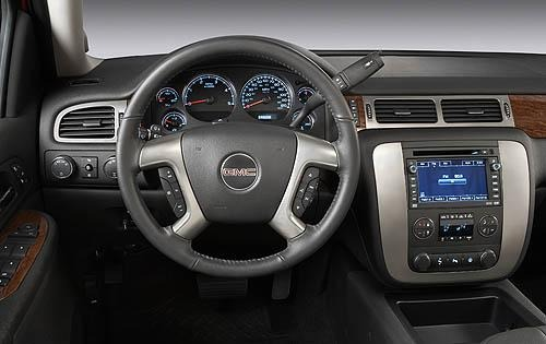 2009 GMC Sierra 2500HD SL interior #7