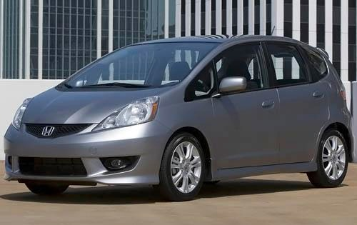 2009 Honda Fit Sport Rear interior #3