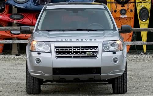 2009 Land Rover LR2 Front exterior #4