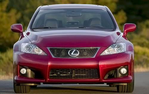 2009 Lexus IS F Sedan exterior #14