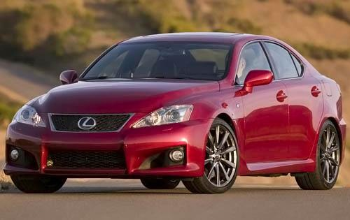 2009 Lexus IS F Sedan exterior #4