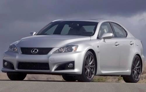 2009 Lexus IS F Sedan exterior #2