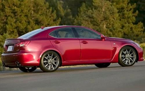 2009 Lexus IS F Sedan exterior #10