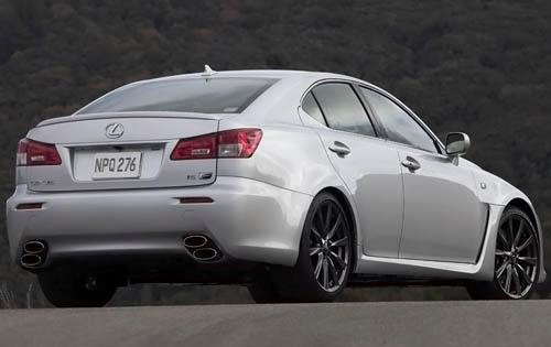2009 Lexus IS F Sedan exterior #12