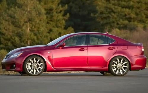 2009 Lexus IS F Sedan exterior #8