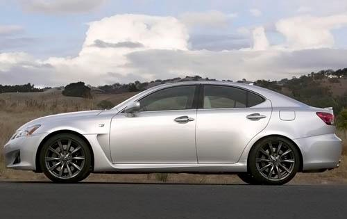 2009 Lexus IS F Sedan exterior #6