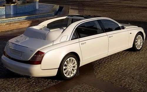 2009 Maybach Landaulet Co exterior #4