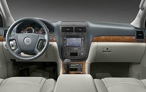 2009 Saturn Outlook XR Ca interior #9