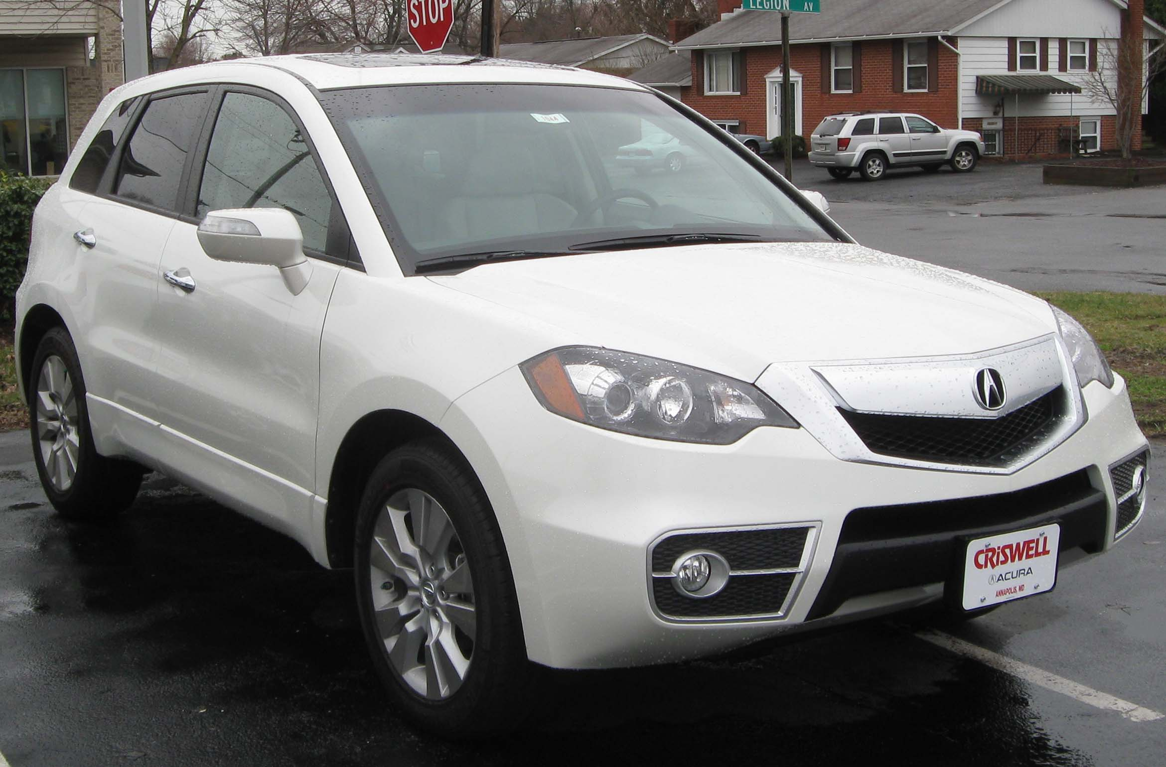 2010 acura rdx information and photos zombiedrive