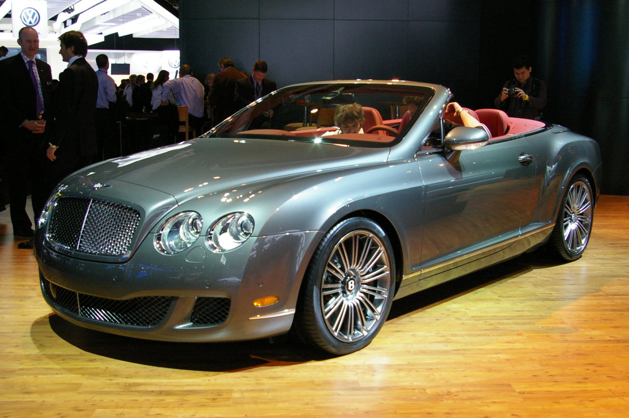 Bentley Continental GTC Speed #7