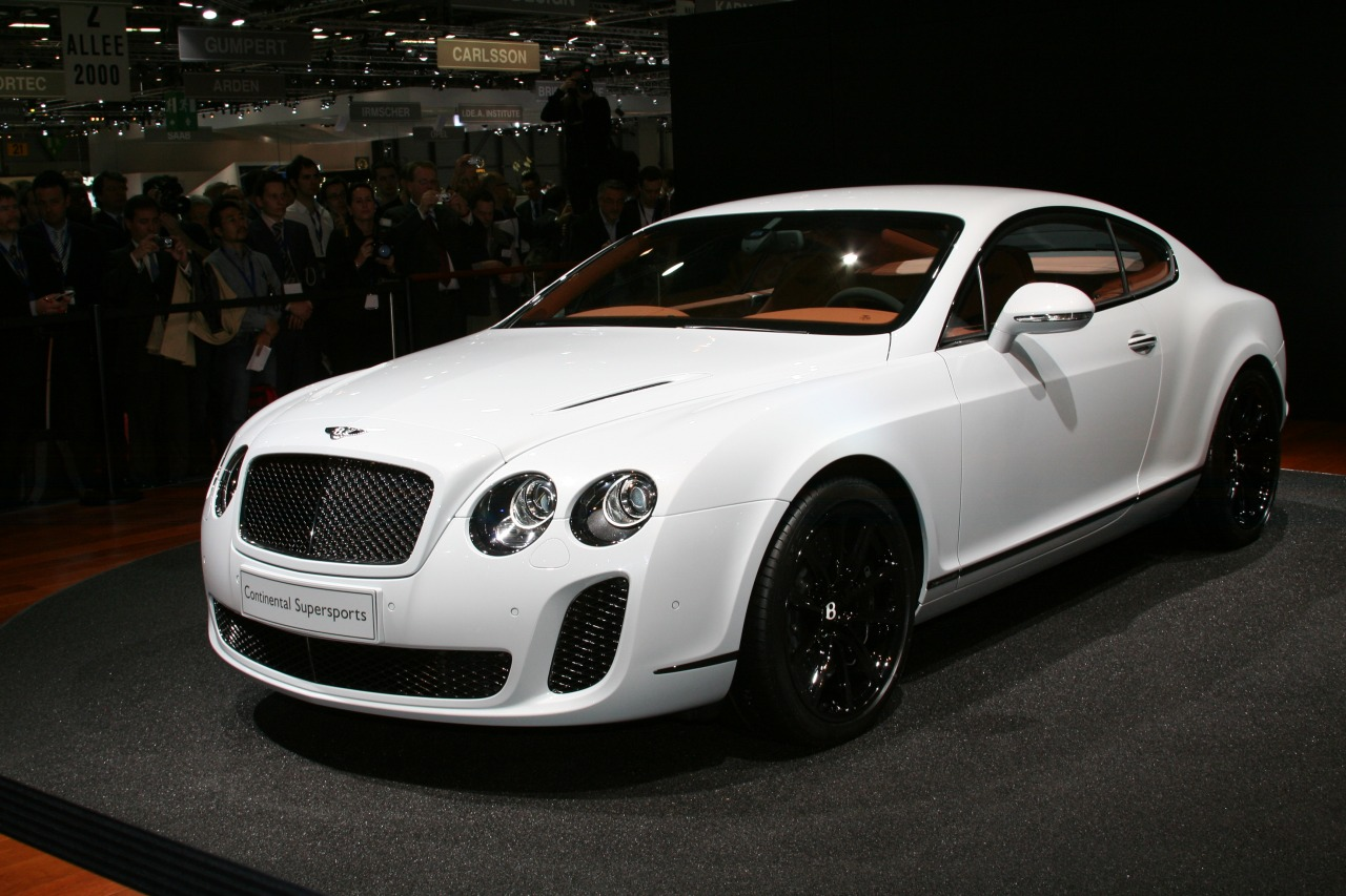 Bentley Continental Supersports #10