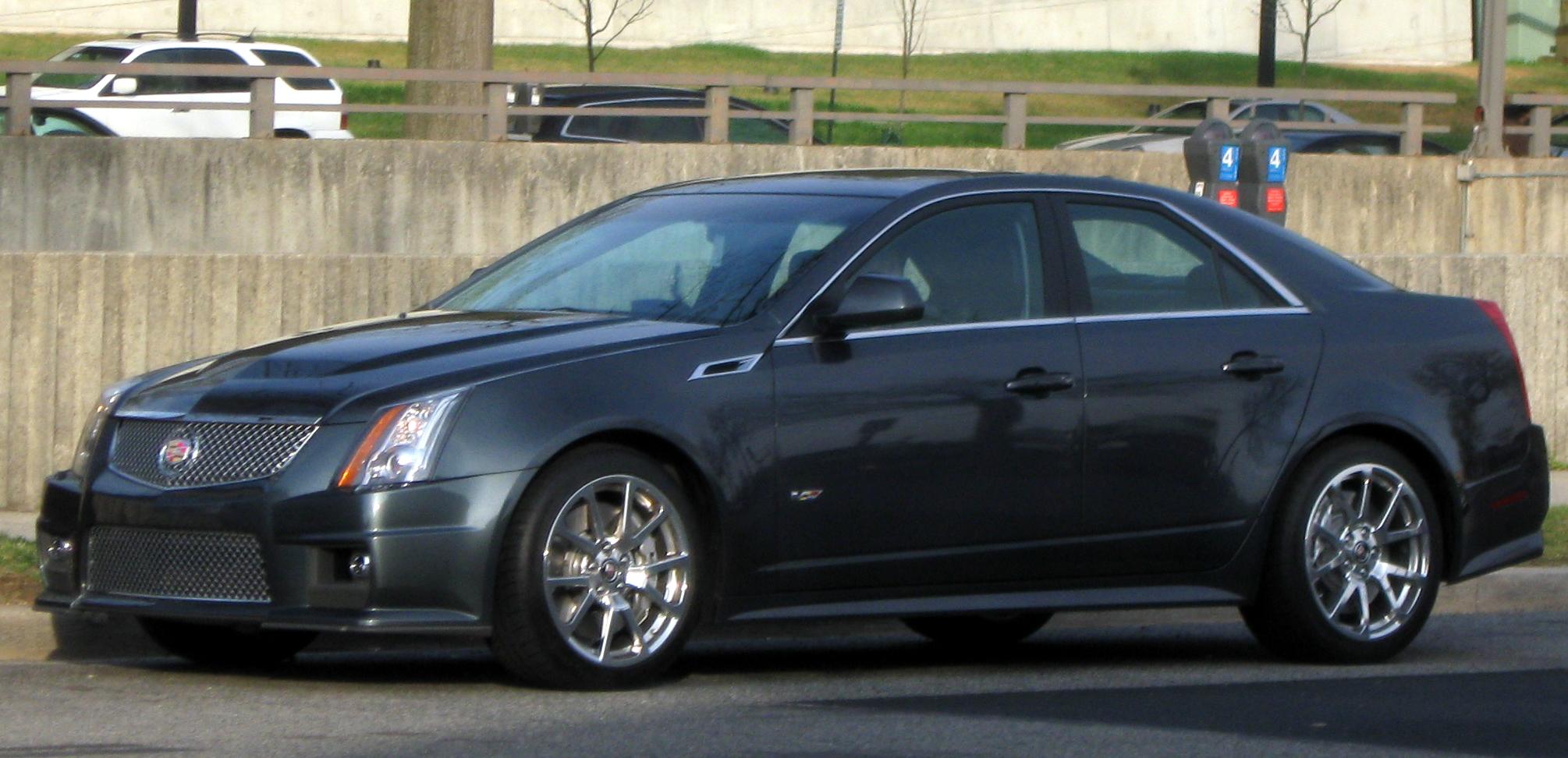 2010 Cadillac CTS-V #21 Cadillac CTS-V #21